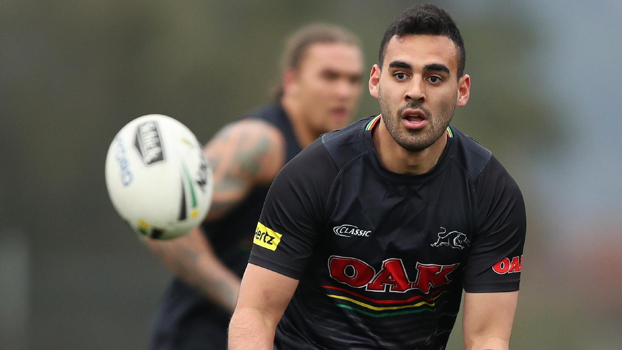 Penrith's Tyrone May is another player stood down as a result of policy. Picture by Brett Costello.
