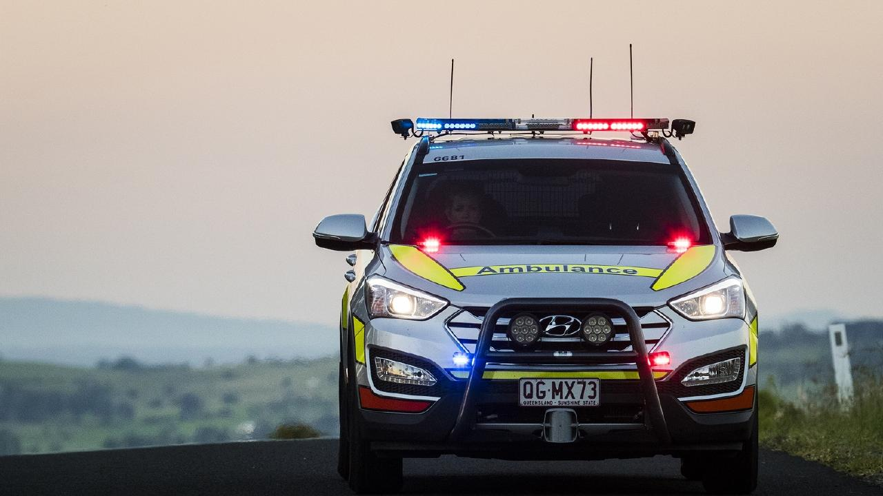 Three men are in hospital with stab wounds after separate incidents in central and southeast Queensland.