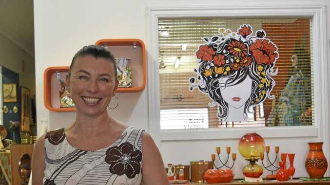 KITCH: Katrina Giles, owner of Grafton retro store Orange Daze.