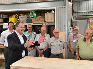 What a 'shedfight': One Nation launches Men's Shed attack