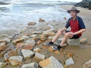 Rocky access to beach angers locals
