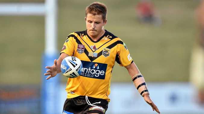 ON THE BALL: Sunshine Coast's Todd Murphy.
