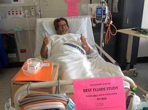 Blood type shock during man's kidney transplant