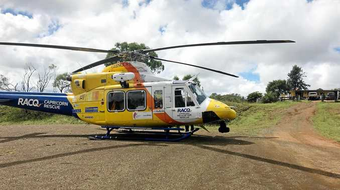 Man airlifted with chest injuries after CQ bull attack