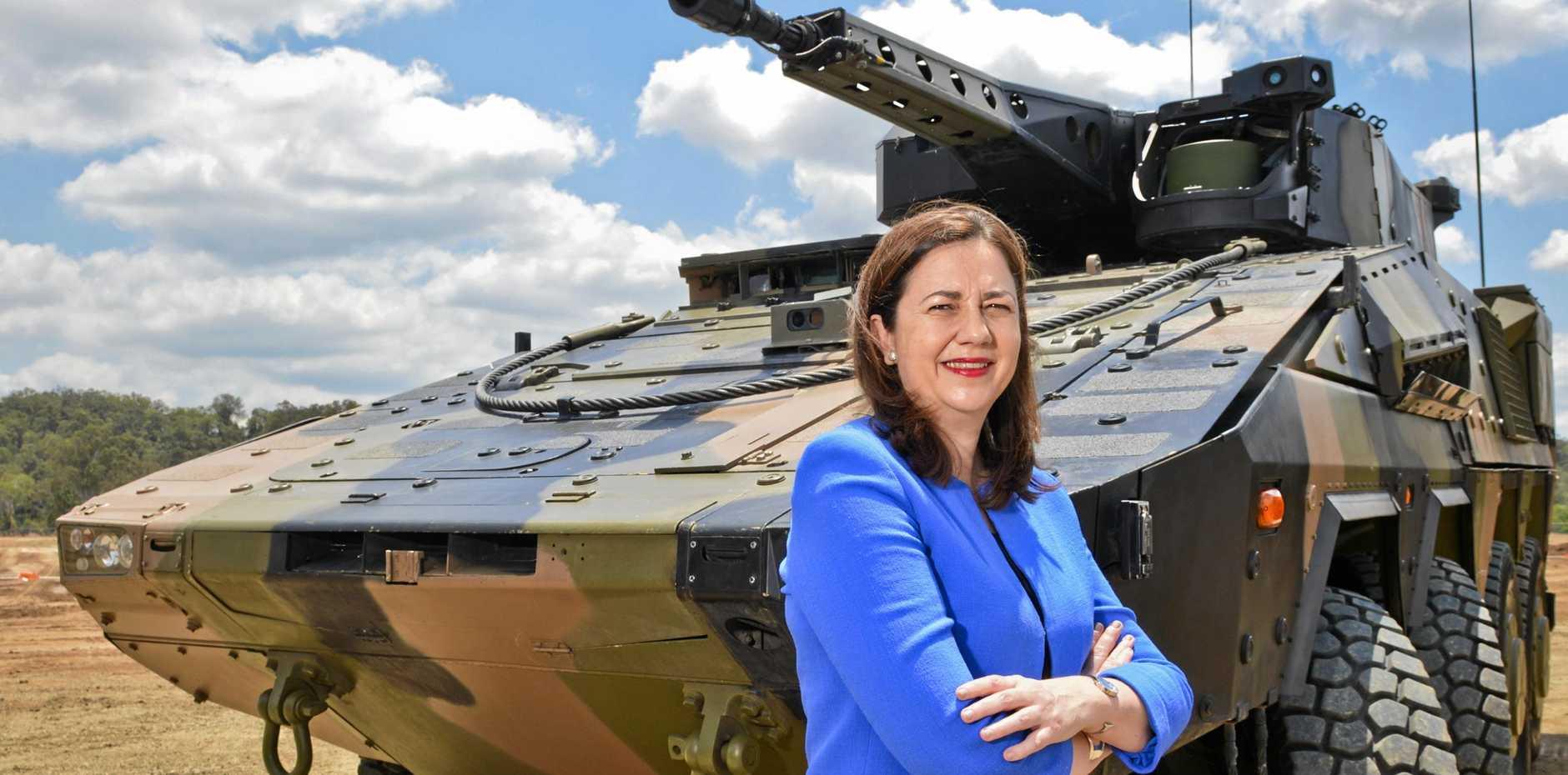 VISITING: Queensland Premier Annastacia Palaszczuk will visit the Sunshine Coast this week.
