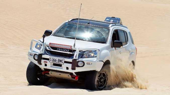 Isuzu's MU-X is one tough four-wheel drive.