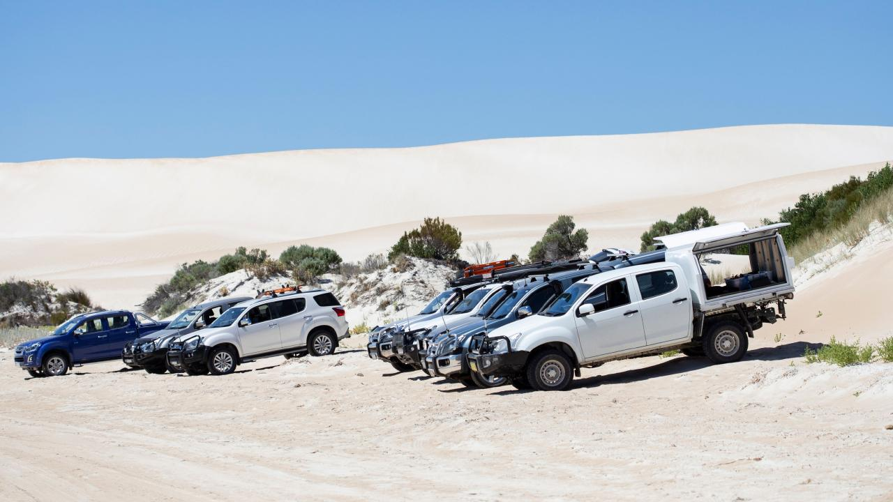 Isuzu has built its recent success off the back of reliable tough utes and SUVs.