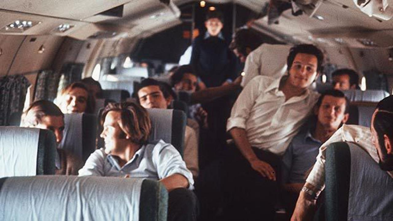 Last photo of Uruguayan flight 571 before it crashed in the Andes. Picture: Channel 4