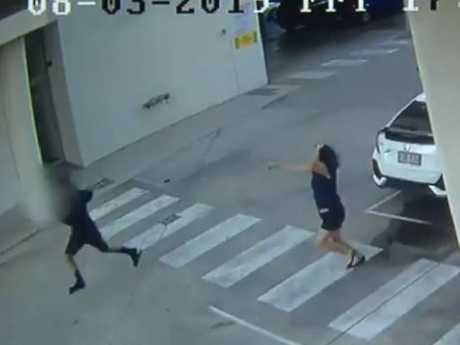 Police allege the teenagers attempted to steal the victim's phone before attacking her. Photo: 7 News.