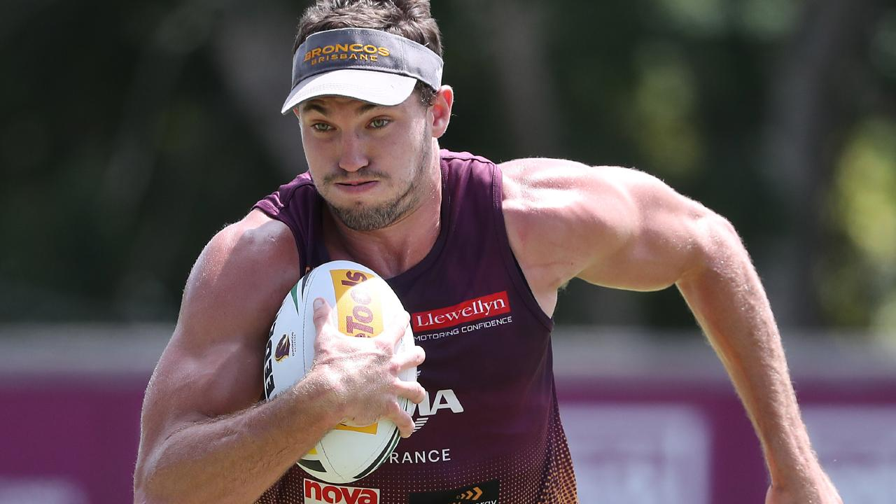 Broncos star Corey Oates has sets his sights on being a one-club statesman. Picture: Peter Wallis