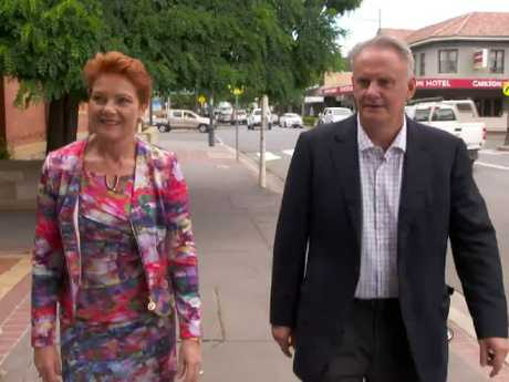 "Latham described tonight's interview as a ""commitment ceremony"". Picture: 60 Minutes/Nine Entertainment Co"