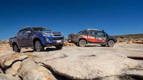 Isuzu's i-venture club allows owners to use their vehicles like they are built for.