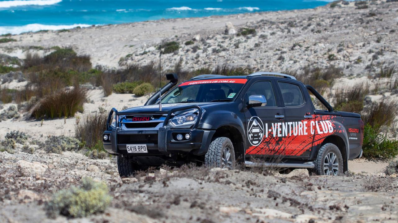The Eyre Peninsula has some unforgiving terrain.