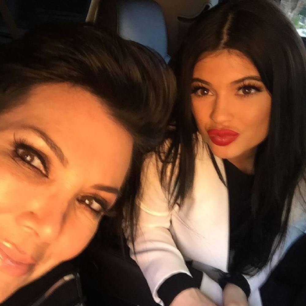 "Kris Jenner is Kylie's manager as well as all her famous siblings, being dubbed a ""momager"" by fans. Picture: Instagram"