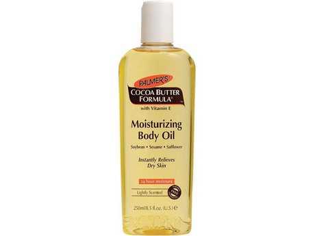 Palmer's Cocoa Butter Moisturising Body Oil cost $10.80.