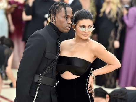 It's led to claims her own boyfriend, daughter Stormi's dad, Travis Scott has been unfaithful, an accusation he has denied. Picture: Getty Images