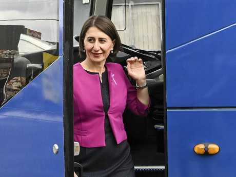 Labor's backroom operators are working to oust NSW Premier Gladys Berejiklian. Picture: Darren Leigh Roberts