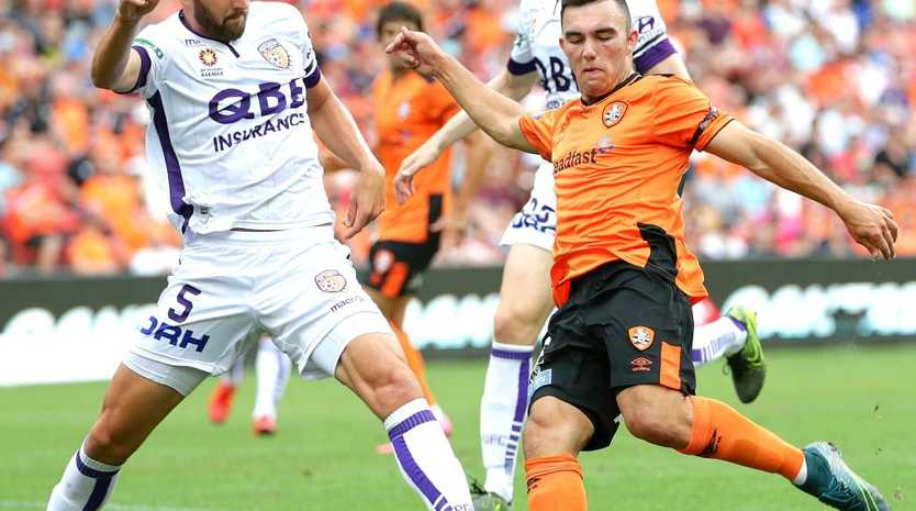 Brisbane Roar's Nick D'Agostino flies out with the Olyroos squad for Malaysia on Monday.
