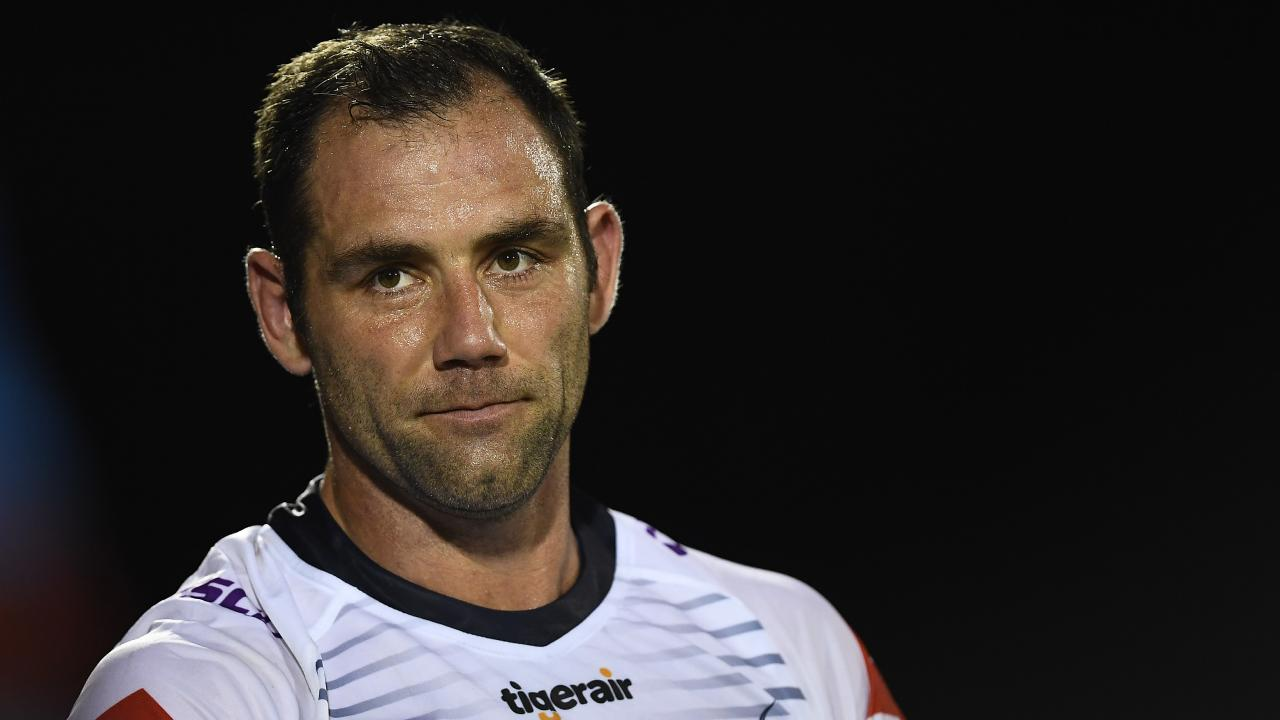 Cameron Smith urged the NRL to review its punishments around salary cap.. Picture: Getty Images