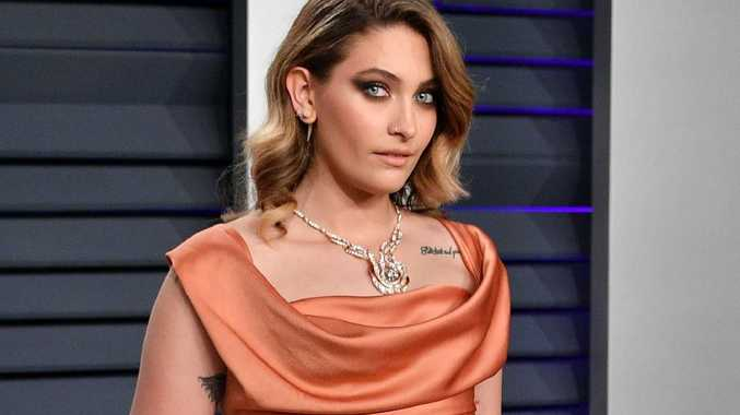 Paris Jackson, at the Vanity Fair Oscars paty last month, has defended her father.