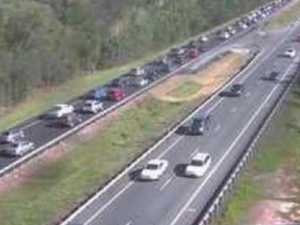 Bruce Hwy in 13km gridlock after smash