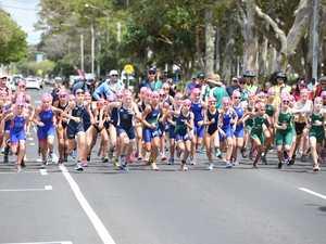 Qld State School Aquathlon female race