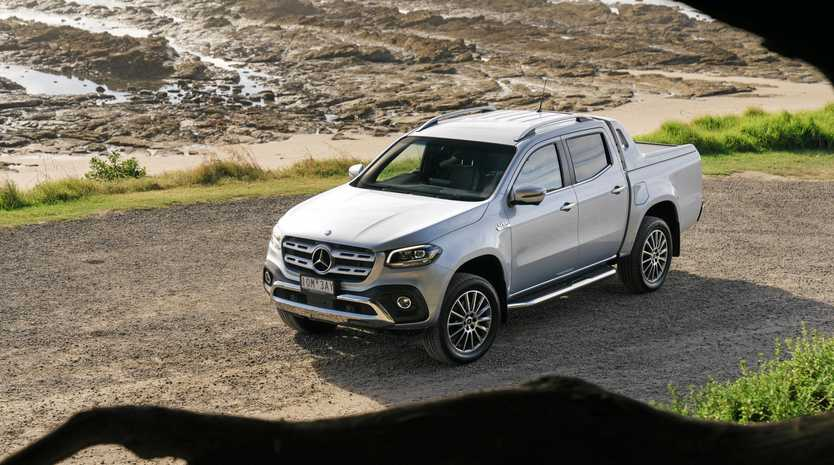 The 2019 Mercedes Benz X-Class V6 X350d.