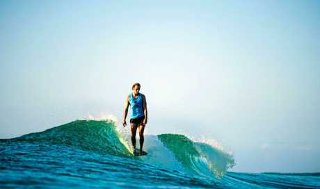 Noosa surfer Harrison Roach was just not good enough to edge out the eventual longboarding champion Justin Quintal.