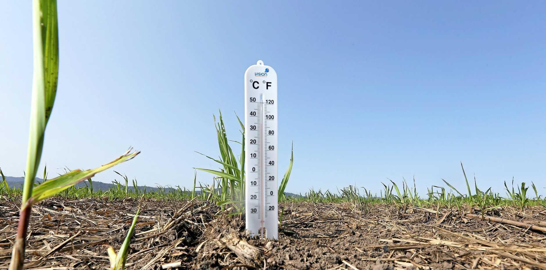 HEATWAVE: Temperatures soar in the North Burnett.
