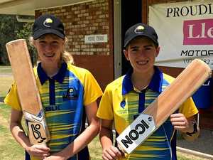 Two Mackay cricketers get a crack at Knott