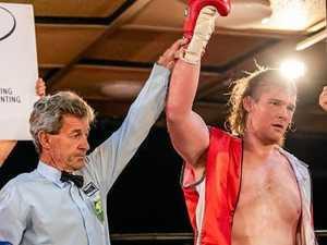Nanango publican wins first pro fight