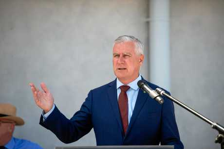 Michael McCormack might not be as colourful as Barnaby Joyce, but you can't tell me Warren Truss was Mr Charisma, and they left him alone in the top job for nine years.