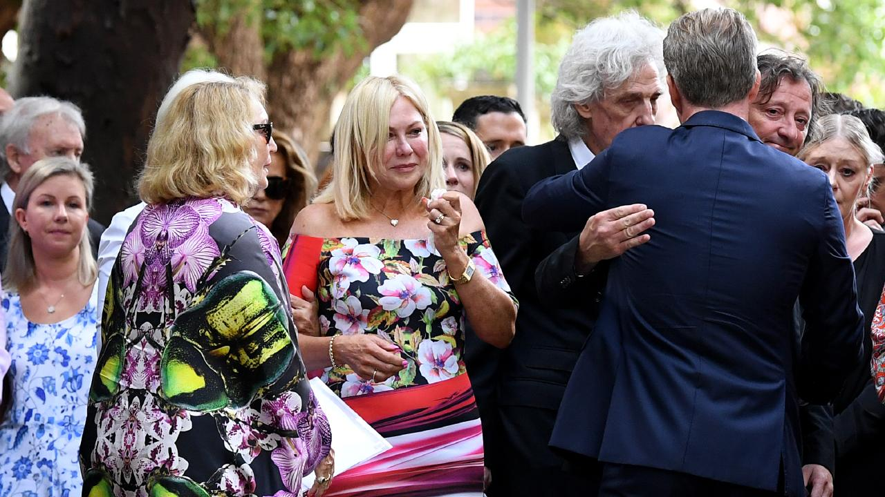 John Kennerley was laid to rest at the All Saints Anglican Church in Sydney. Picture: AAP Image/Joel Carrett