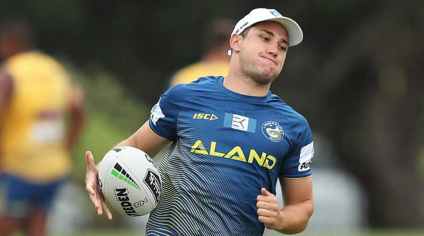 Mitchell Moses is ready for a big season. Picture: Brett Costello