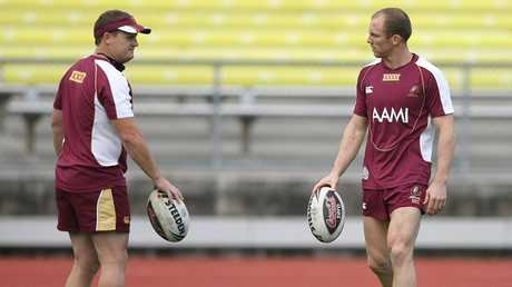 Kevin Walters and Darren Lockyer were reporteded to have a strained relationship over the Broncos coaching appointment.