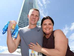 Hero's daring rescue before charity record attempt