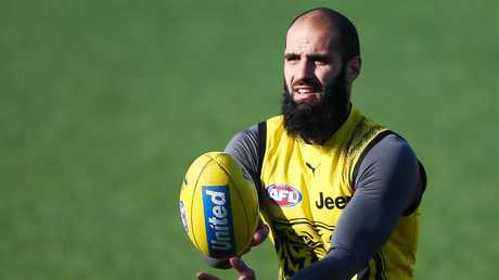 Bachar Houli thrives on the social responsibilities and role-model status that come with being a Muslim in professional sport.