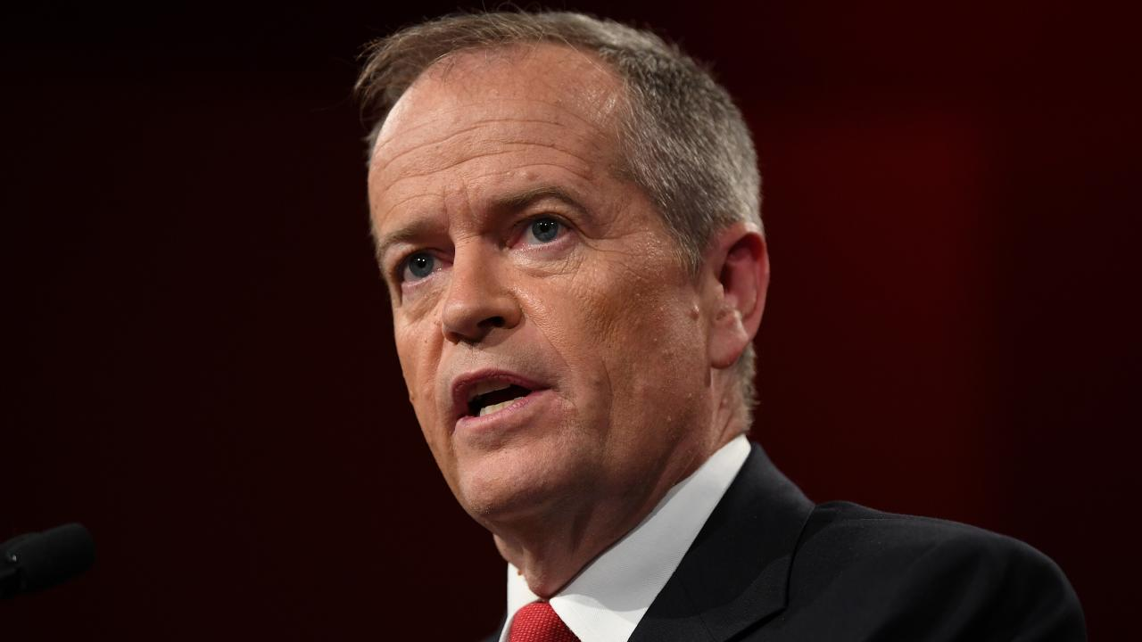 Federal Labor leader Bill Shorten. (AAP Image/Joel Carrett)