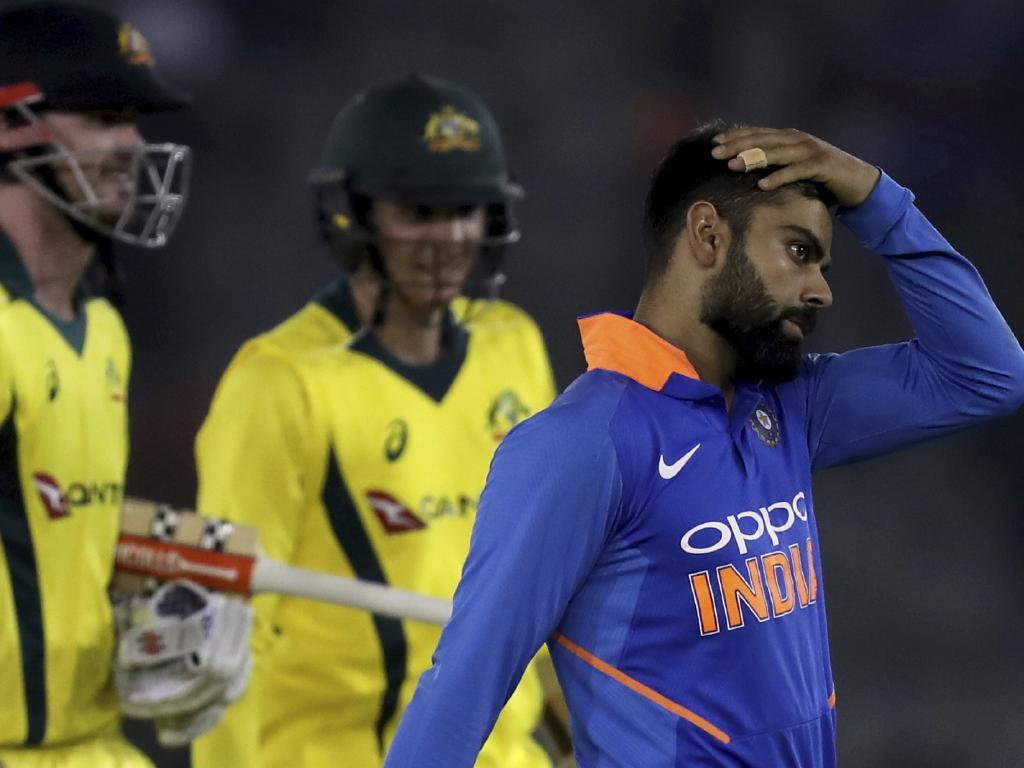 Kohli was perplexed by the DRS dud.