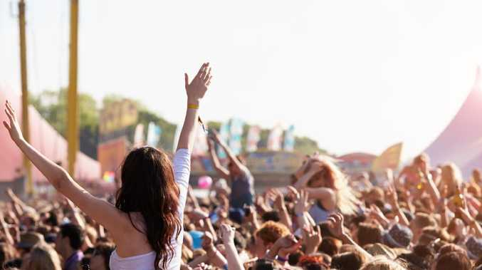 Drugs are becoming an increasing problem at music festivals.