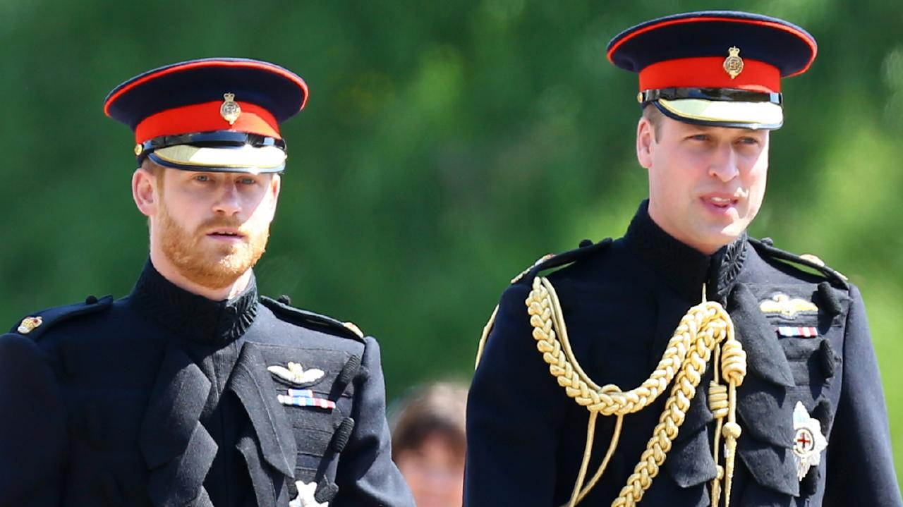 The royal brothers are a little on the nose with the British public. Picture: Gareth Fuller/WPA Pool/Getty Images