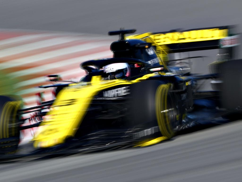 Daniel Ricciardo will be hoping his Renault can beat the Red Bulls.