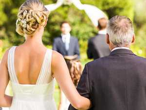 Bride's disabled dad banned from wedding