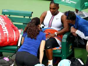 Serena Williams' shock 'viral' retirement
