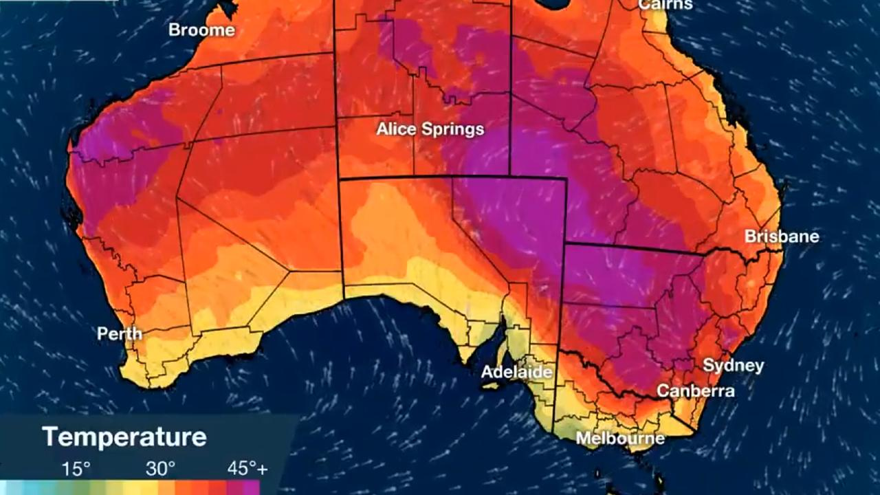 Southeast Queensland is set to swelter this week.