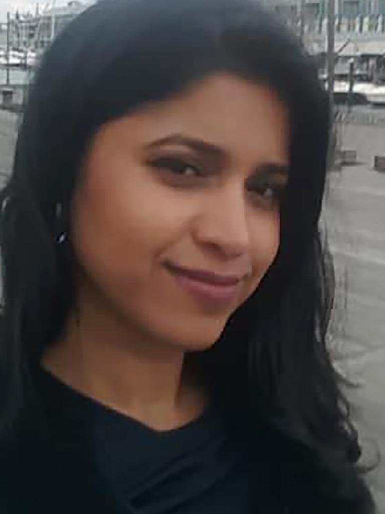 Police believe Narde stabbed Preethi Reddy in his hotel room.