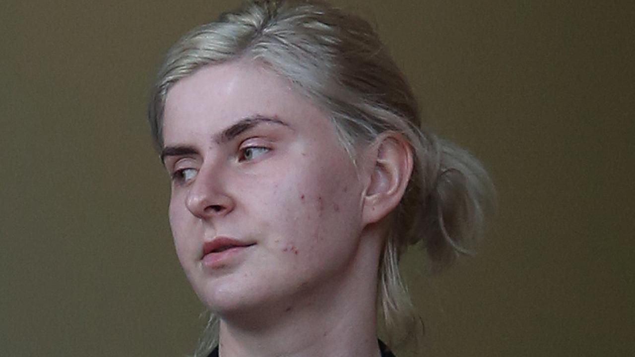 Simona Zafirovska is accused of killing her mother, Radica Zafirovska. Picture: Marc Robertson