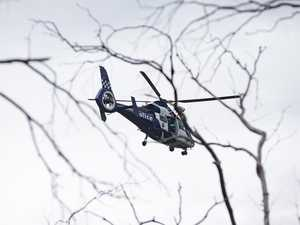 Hikers with baby rescued in freezing bush