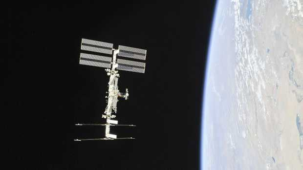 An image snapped by the International Space Station excited conspiracy theorists.