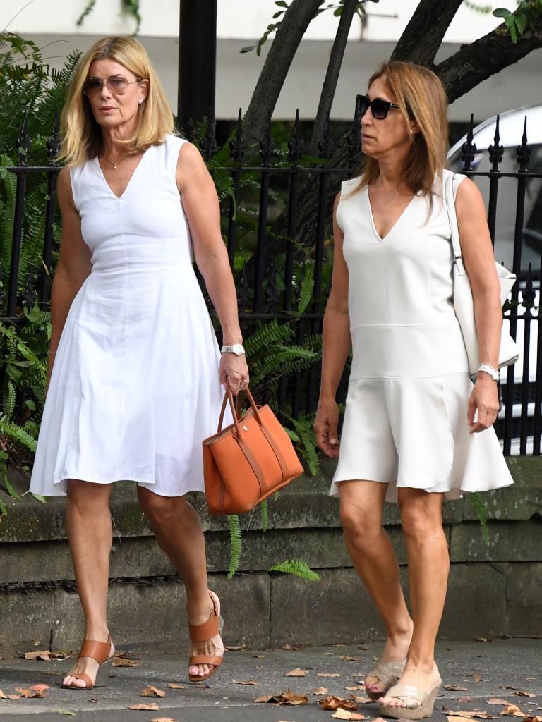 Deborah Hutton (left). Picture: AAP Image/Joel Carrett
